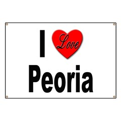 I Love Peoria Banner