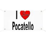 I Love Pocatello Banner