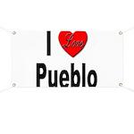 I Love Pueblo Banner