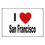 I Love San Francisco Banner