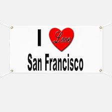 I Love San Francisco Banner