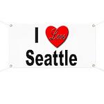 I Love Seattle Banner