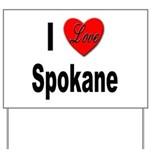 I Love Spokane Yard Sign