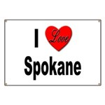 I Love Spokane Banner
