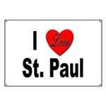 I Love St. Paul Minnesota Banner