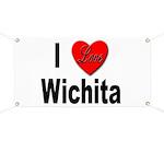 I Love Wichita Banner