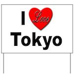 I Love Tokyo Yard Sign