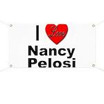 I Love Nancy Pelosi Banner