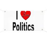 I Love Politics Banner