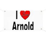 I Love Arnold Banner