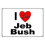 I Love Jeb Bush Banner