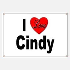 I Love Cindy Banner