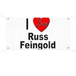 I Love Russ Feingold Banner