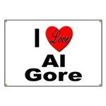 I Love Al Gore Banner