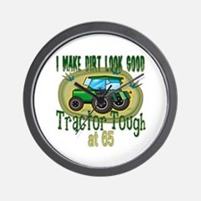 Tractor Tough 65th Wall Clock