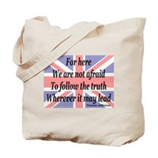 We are not afraid -- Jefferso Tote Bag