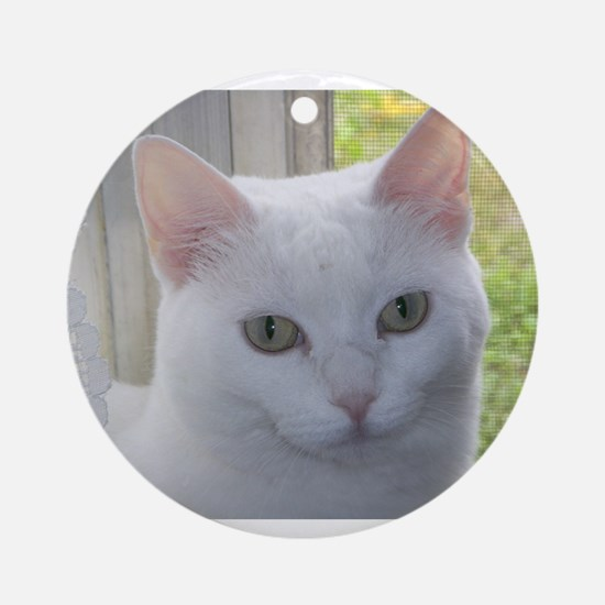 Sugar Kitty Collection Ornament (Round)