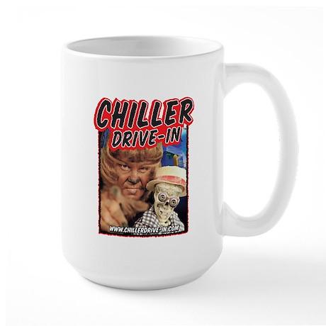 Chiller Drive-In - Mac & Boney - Large Mug