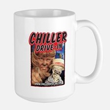 Chiller Drive-In - Mac & Boney - Large Mug