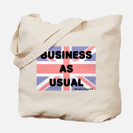 Business as usual -- Winston Tote Bag