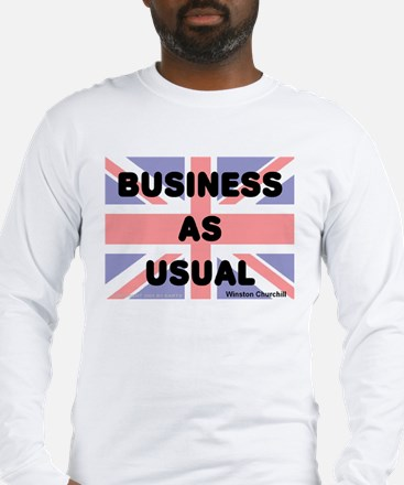 Business as usual -- Winston Long Sleeve T-Shirt