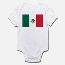Flag of Mexico Infant Bodysuit