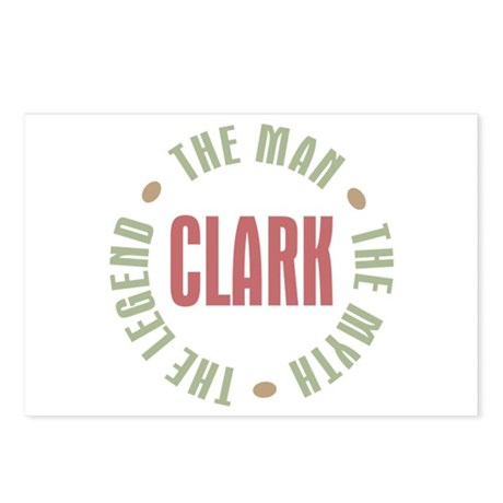 Clark Man Myth Legend Postcards (Package of 8)