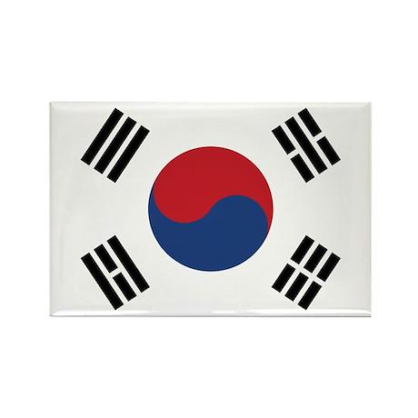 Flag of South Korea Rectangle Magnet