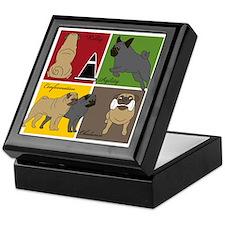 Pugs Do It All Keepsake Box