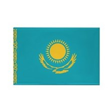 Flag of Kazakhstan Rectangle Magnet