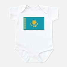 Flag of Kazakhstan Infant Bodysuit