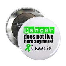 """I Beat Cancer (Lymphoma) 2.25"""" Button (10 pack)"""