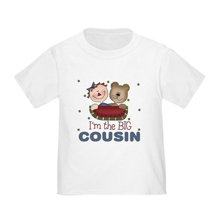 I'm the Big Cousin Baby Toddler T-Shirt