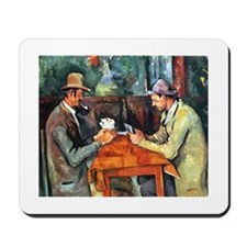 The Card Players Mousepad