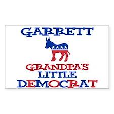 Garrett - Grandpa's Little De Rectangle Decal