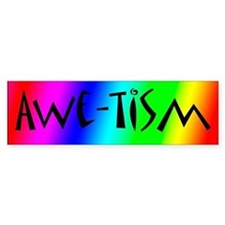 Autistic Awareness 3 Bumper Bumper Sticker