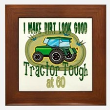 Tractor Tough 60th Framed Tile