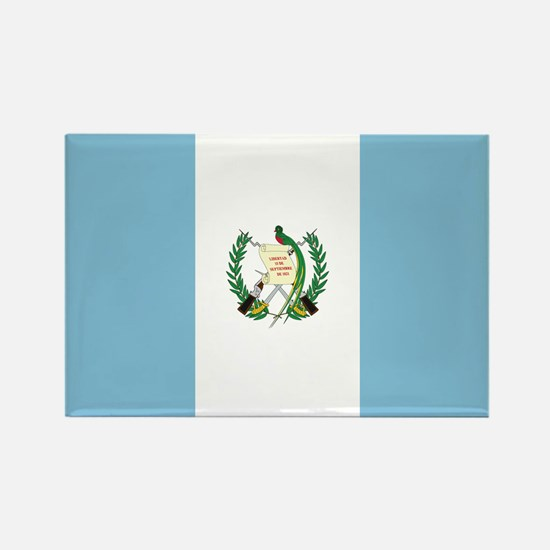 Flag of Guatemala Rectangle Magnet