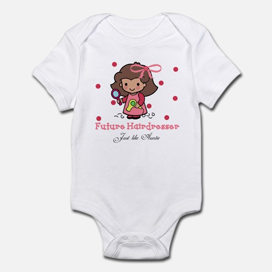 Hairdresser like Auntie Baby Kids Infant Bodysuit