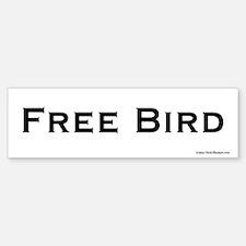 Free Bird bumper sticker.