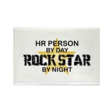 HR Rock Star by Night Rectangle Magnet