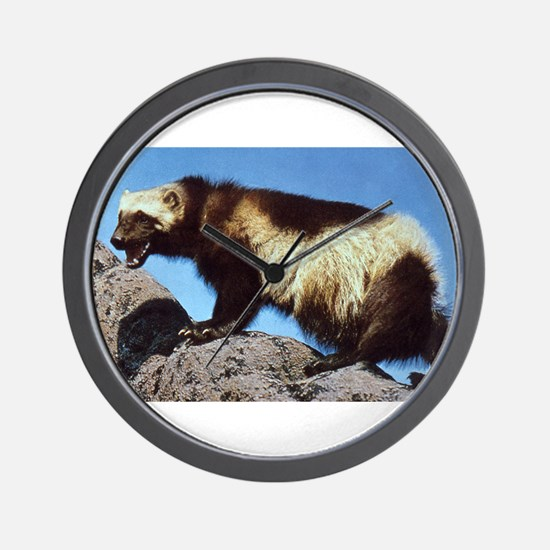 Wolverine Photo Wall Clock