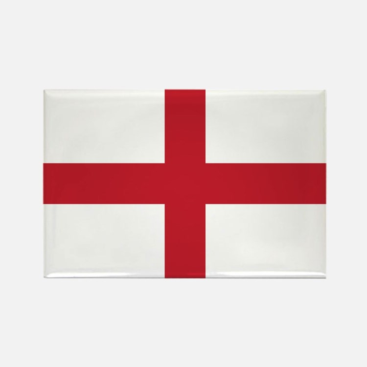 Flag of England Rectangle Magnet