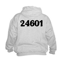 Funny Les miserable 24601 Hoodie