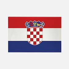 Flag of Croatia Rectangle Magnet