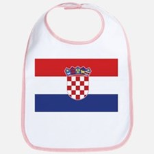 Flag of Croatia Bib
