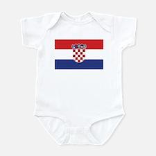 Flag of Croatia Infant Bodysuit