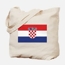 Flag of Croatia Tote Bag