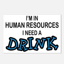 HR Need a Drink Postcards (Package of 8)