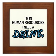HR Need a Drink Framed Tile